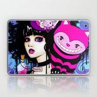 Alice Returns To Wonderl… Laptop & iPad Skin