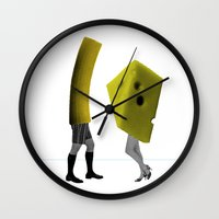 Because She's The Cheese… Wall Clock
