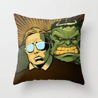 A Banner Year Throw Pillow