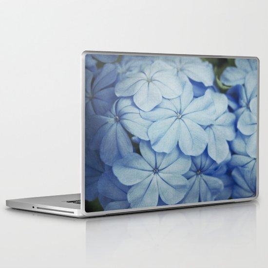 Blue Plumbago Laptop & iPad Skin