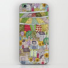 neighborhood garden iPhone & iPod Skin