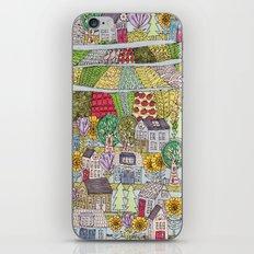 neighborhood garden iPhone & iPod Skin