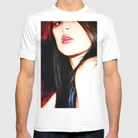On The Edge Of Desire Mens Fitted Tee White SMALL