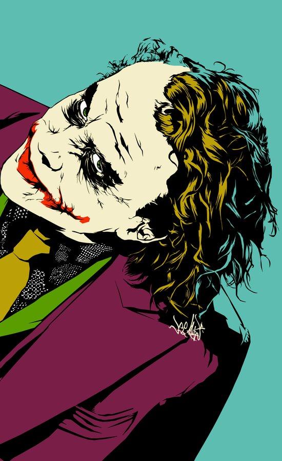 Joker So Serious Art Print