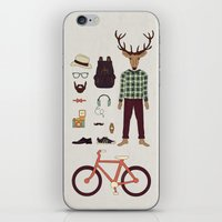 Deer Boy iPhone & iPod Skin