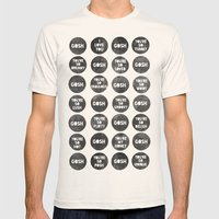 Colorplay_Goshquotes by Rachel & Garima Mens Fitted Tee Natural SMALL