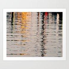 Ripple Reflections  Art Print