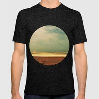 Salt Water Story Mens Fitted Tee Tri-Black SMALL