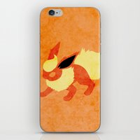 Flareon iPhone & iPod Skin