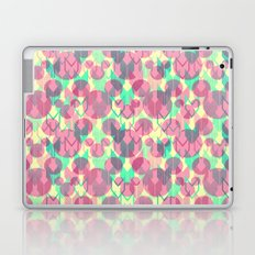 Mickey Mouse Arrows in Pink, Mint, and Yellow Laptop & iPad Skin