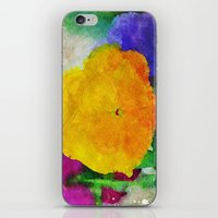 Color Of Pansies Writ La… iPhone & iPod Skin