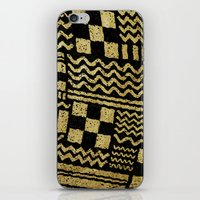Gold Fuse iPhone & iPod Skin