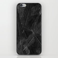 Feathered (Black). iPhone & iPod Skin