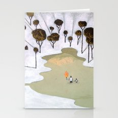 Mt.Zion With Daddy Stationery Cards