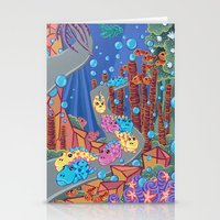 Underwater Parade Stationery Cards