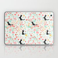 Lucky Cat Garden Laptop & iPad Skin
