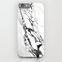 iPhone Cases featuring Marble by Judith Abbott