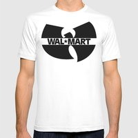 WAL*TANG CLAN Mens Fitted Tee White SMALL