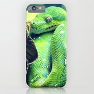 iPhone & iPod Case featuring Snake by Yoshigirl