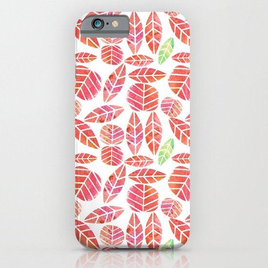 minimalist autumn iPhone & iPod Case