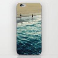 You, Me, and The Sea  iPhone & iPod Skin