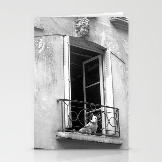 "Rue de la Verriere (Paris) ""GEOROMANTIC"" series Stationery Card"