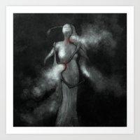 Yearn Art Print