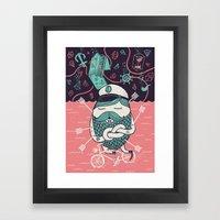 The Captain´s Dream Framed Art Print