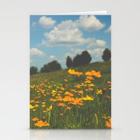 Dreaming In A Summer Fie… Stationery Cards