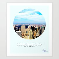 This Is New York Art Print