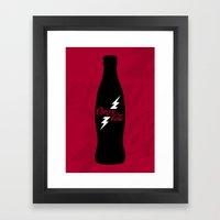 Cherry Cola Framed Art Print