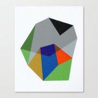 Abstract No. 6 Canvas Print