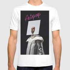 A-R-T-P-O-P Mens Fitted Tee White SMALL