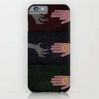 iPhone & iPod Case featuring Lord of the Rings Minimalist Posters: Trilogy by Matt Humphrey