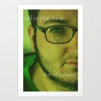 Zelophobia. Art Print