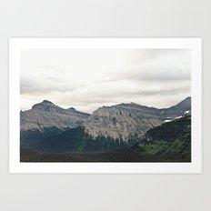 Mountain Green Art Print