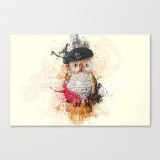 Spain Owl Canvas Print