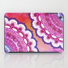 Colorful Watercolor Mandala iPad Case