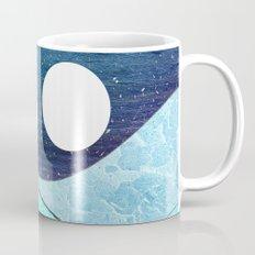 Ice Blue Waves Mug