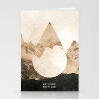 Longitude/Latitude Stationery Cards