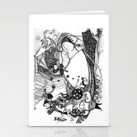 circus Stationery Cards featuring Circus by Ivanushka Tzepesh