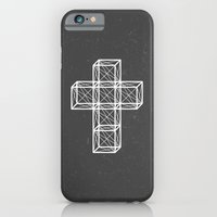 cross iPhone & iPod Cases featuring Cross by Dizzy Moments