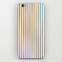 Striped Pattern In Paste… iPhone & iPod Skin