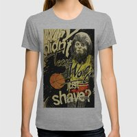 Teen Wolf Womens Fitted Tee Athletic Grey SMALL