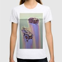 Rainbow Corrosion  Womens Fitted Tee Ash Grey SMALL