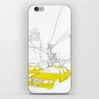 Cross Town Traffic iPhone & iPod Skin