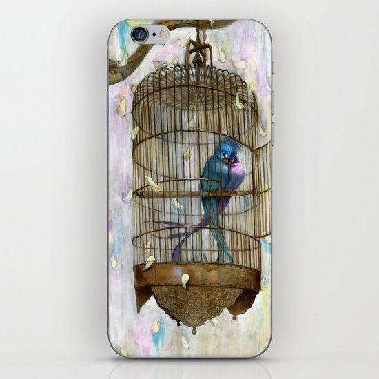 Birds in Love! iPhone & iPod Skin