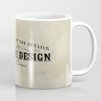 The Details Are Not The … Mug