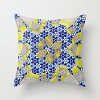 Porcelain 8.5 Million St… Throw Pillow