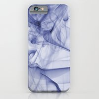 iPhone & iPod Case featuring Blue Smoke by nickcollins.ca